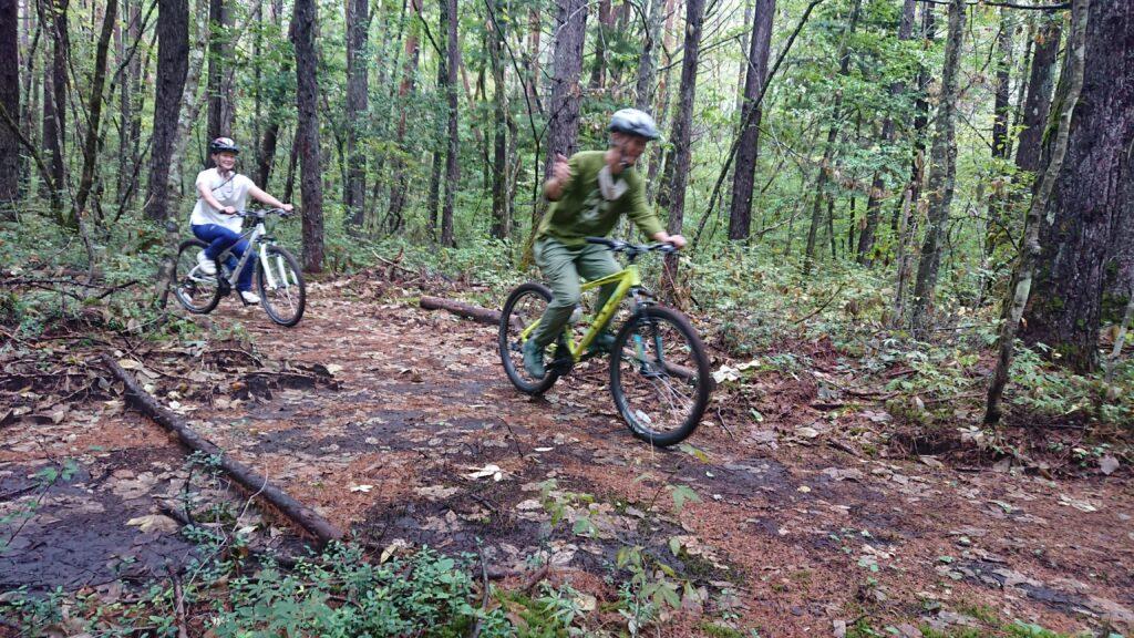 森のマウンテンバイク&ファットバイク